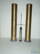 1.23 Латунный цилиндр со смотровым окном и мерной пипеткой КП-601/3