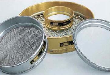 1.74.4 Сито металлическое диаметром 300 мм с сеткой по ГОСТ 6613 (оцинк. сталь)