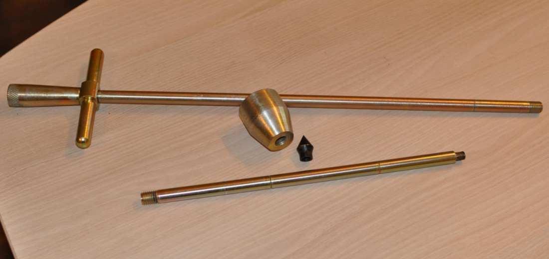 10.5.2. ЗИП к Д-51 (2 конуса, наковальня, направляющая штанга, погружной наконечник)