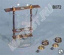 2.35. Прибор КИШ по EN 1427 ручной  (2 направляющие накладки; 2 ступенчатых испытательных кольца; 2 испытательных шарика, пластинка мет., рама)
