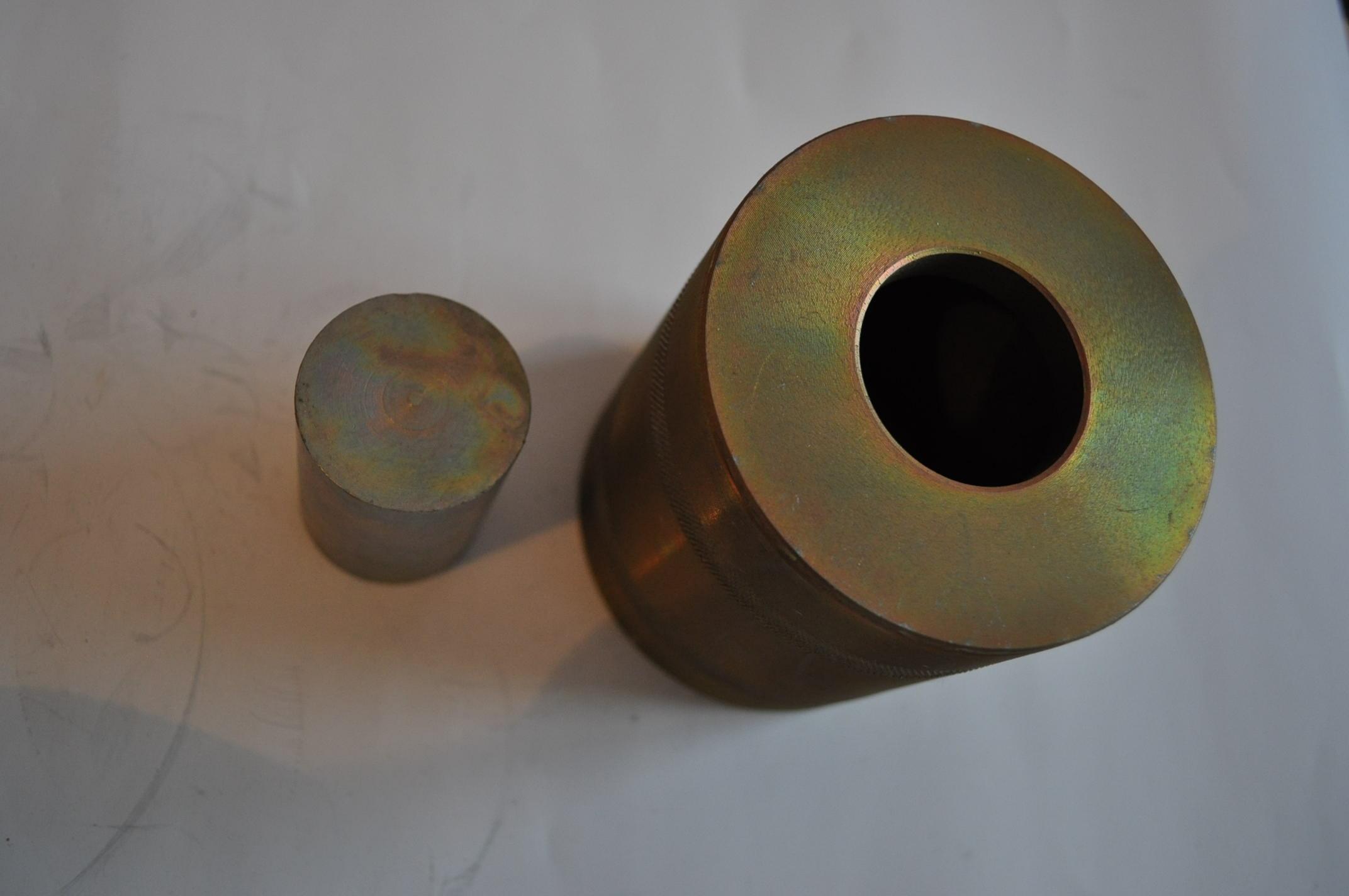 2.37. Прибор для определения сдвигоустойчивости а/бетона (образцы 50,5 мм)