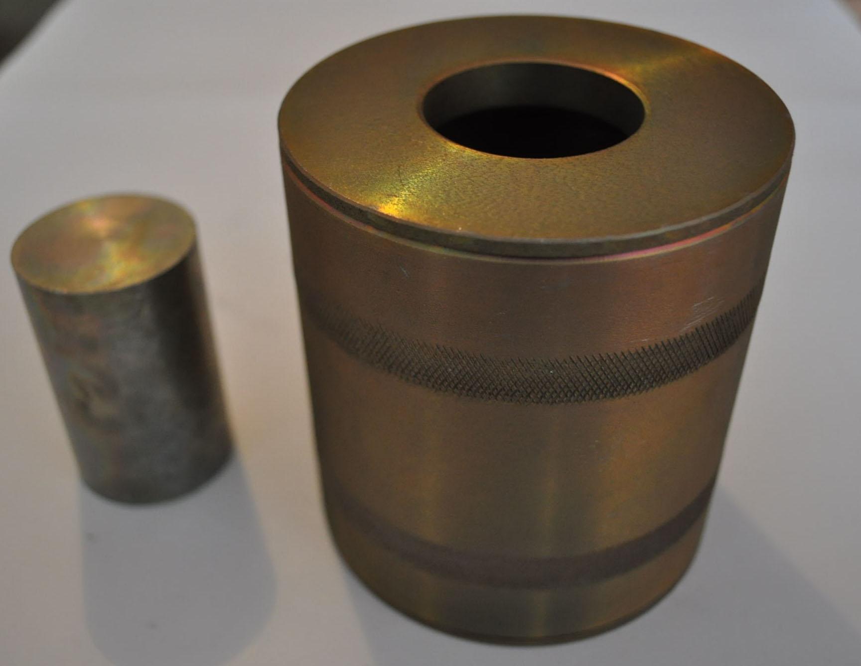 2.38. Прибор для определения сдвигоустойчивости а/бетона (образцы 71,4 мм)