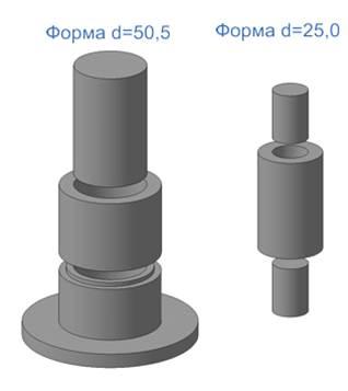 2.66. Форма для определения плотности минерального порошка