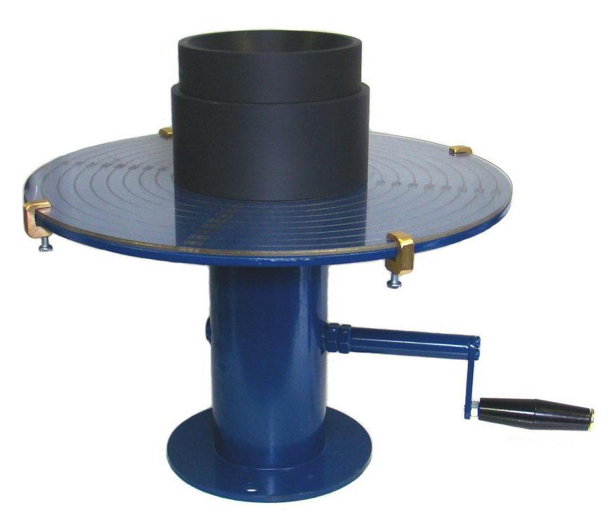 3.11. Встряхивающий столик с формой-конусом для определения консистенции цементных растворов КП-111