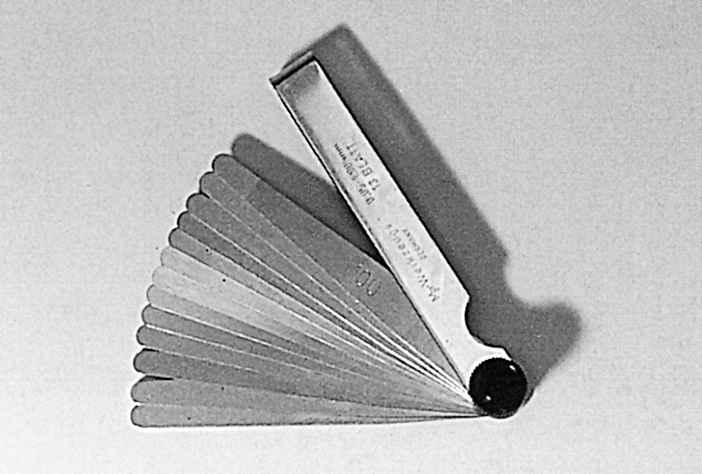 7.28. Набор щупов №3 (0,55-1,0) мм
