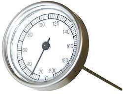 7.57. Термометр ТБП-40 (биметаллический сос щупом нерж. для асфальтобетона,0…200/2)