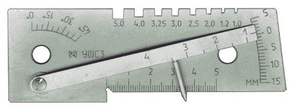 7.74. Универсальный шаблон сварщика УШС-3 (с поверкой РБ)