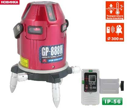 7.83.15.  Линейный лазерный нивелир GPI GP-888H III