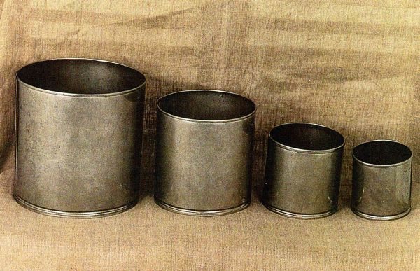 1.16 Комплект мерных сосудов по СТБ ЕН 1097-3-2007 (1, 5, 10 и 20 л) нерж.