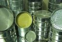 1.37 Набор сит грунтовых 200 мм из оцинкованной стали КП-131 7/200 (яч. 0,25; 0,5; 1; 2; 5 и 10 мм) поддон, крышка