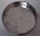 1.74.11 Поддон для сит диаметром 200 мм оцинк. сталь