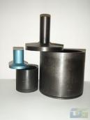 1.81. 1.82 Цилиндр малый d=75 мм для испытания щебня на дробимость ЦП75. Цилиндр большой d=150 мм для испытания щебня на дробимость ЦП150