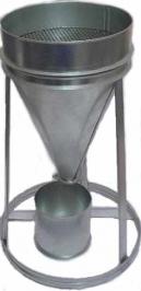 1.8 Воронка ЛОВ (ГОСТ 8735) для определения объёмного насыпного веса песка